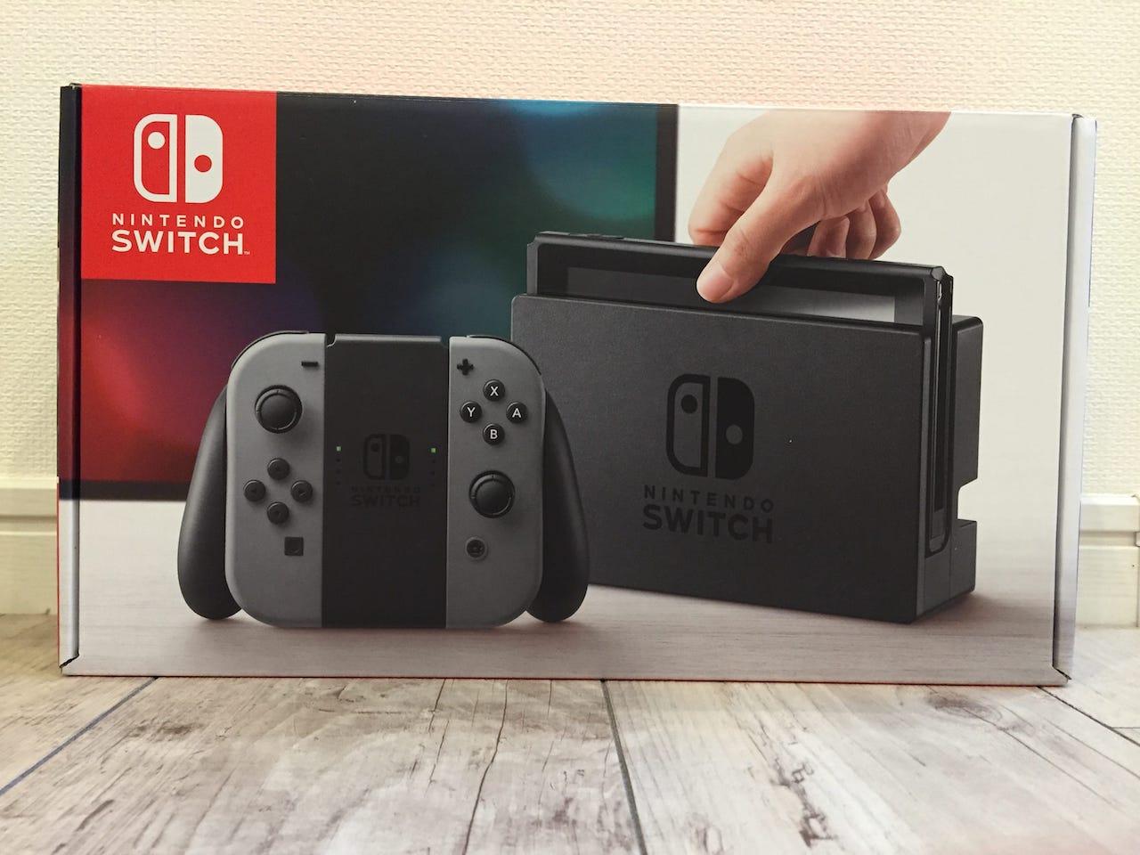 遂に購入できました!任天堂Switchのレビューと感想