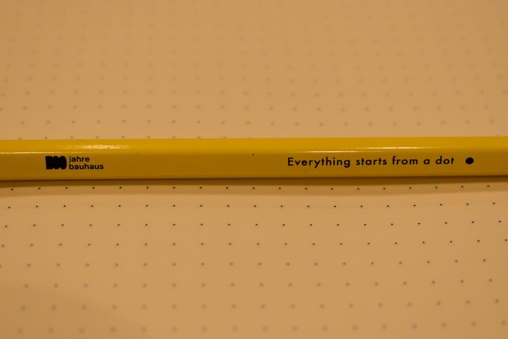 ロイヒトトゥルム×バウハウス版のオリジナル鉛筆 その2