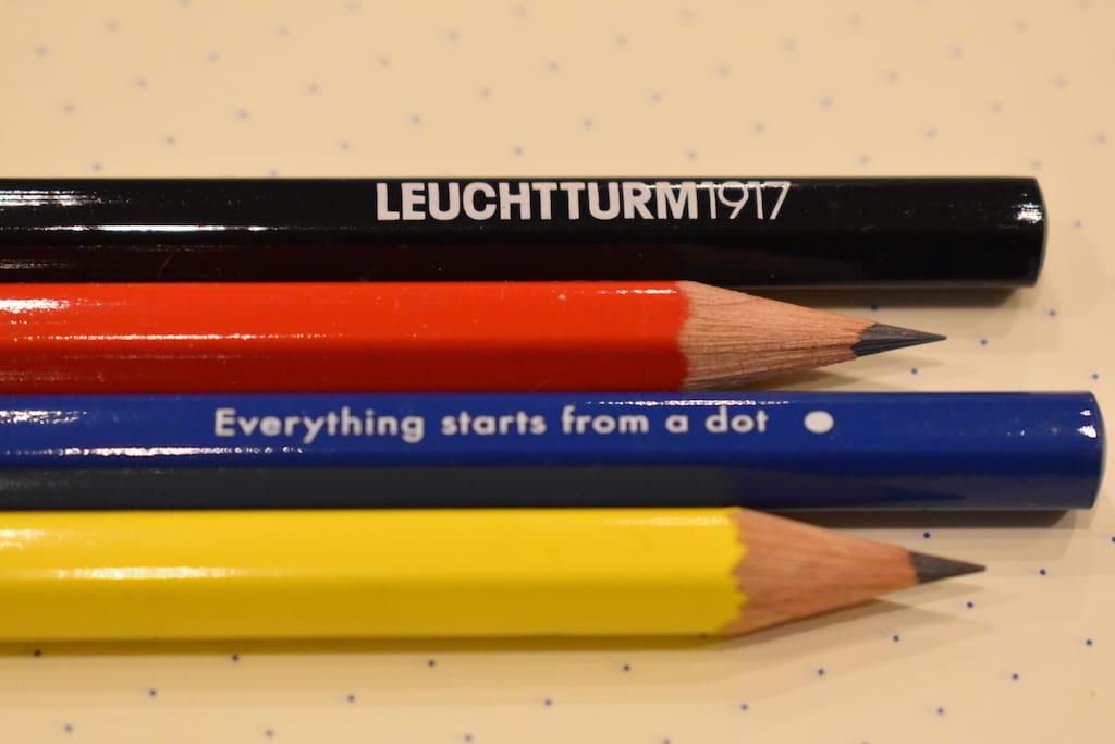 ロイヒトトゥルム×バウハウス版のオリジナル鉛筆 その3