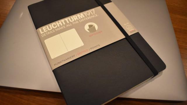 ソフトカバー版のロイヒトトゥルム1917(LEUCHTTURM1917)
