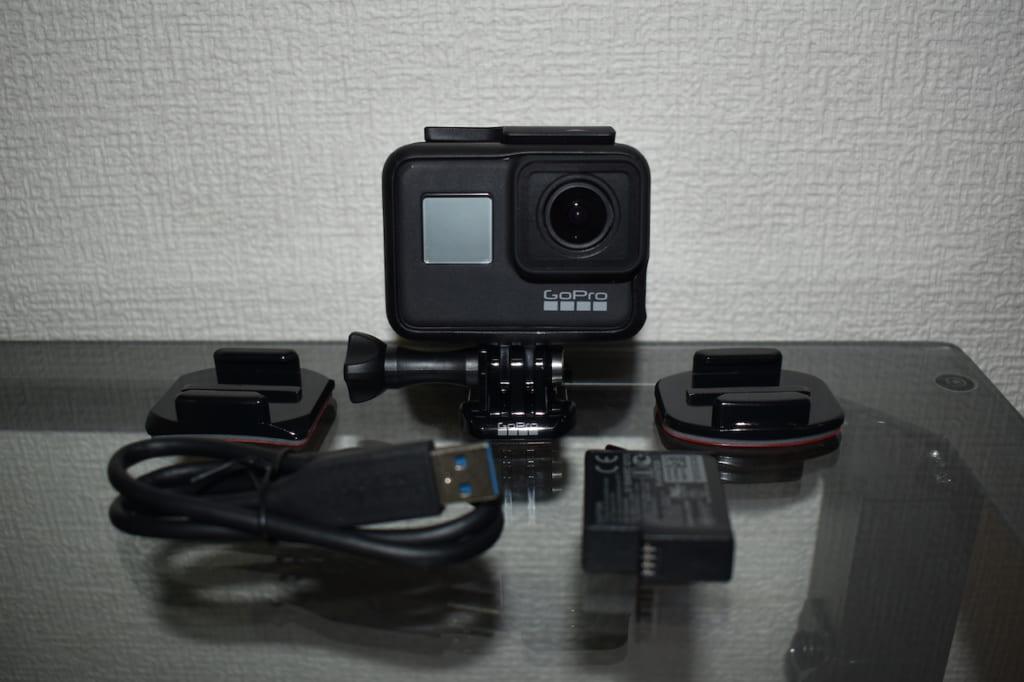 GoPro HERO7 Blackの付属品