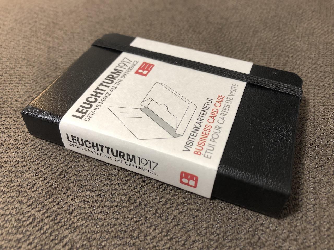 ロイヒトトゥルム1917のビジネスカードケース
