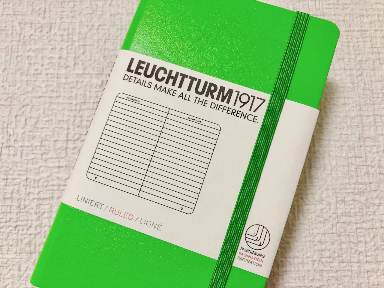 ロイヒトトゥルムのポケット(A6サイズ)