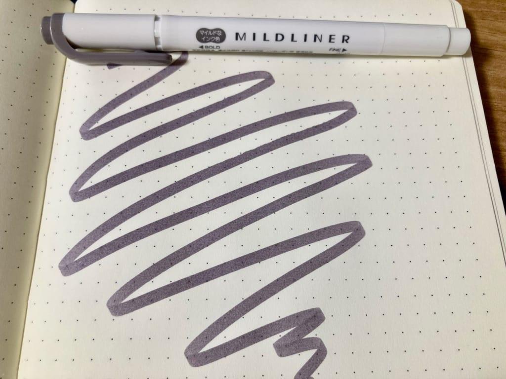 マイルドライナーとロイヒトトゥルムの相性(表・マイルドダークグレー)
