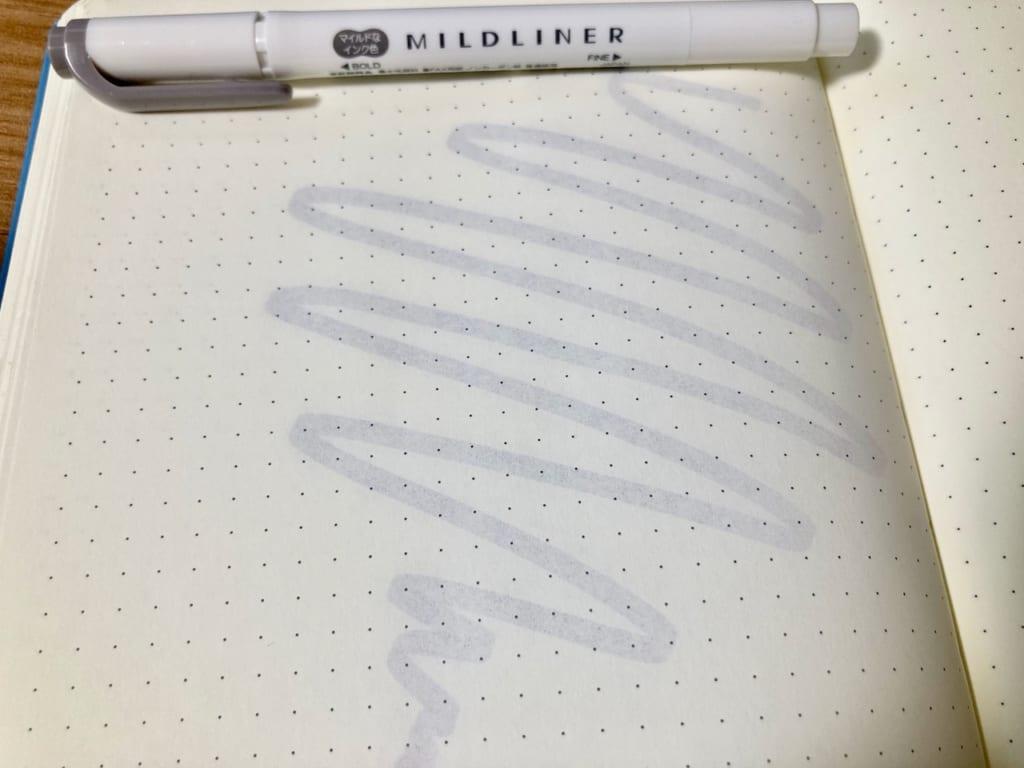 マイルドライナーとロイヒトトゥルムの相性(裏・マイルドダークグレー)