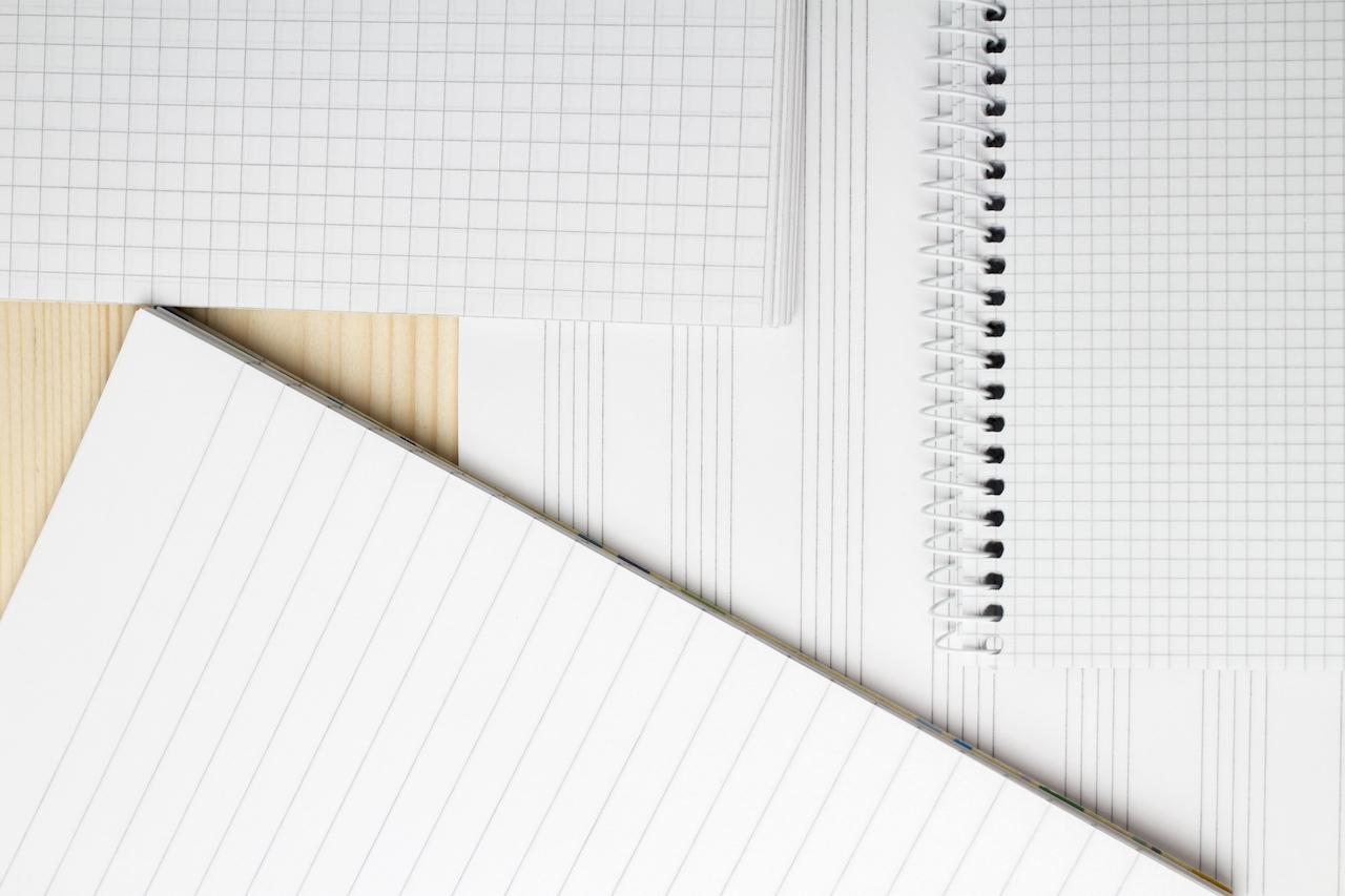 ノート罫線の種類まとめ
